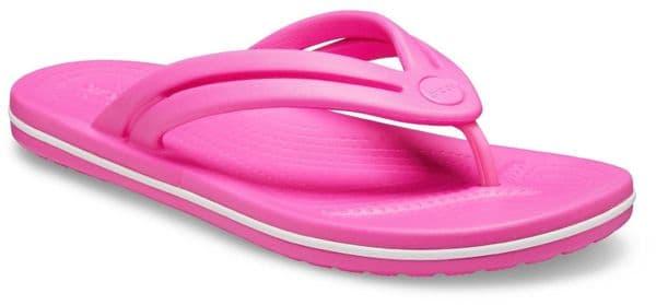 Crocs Crocband Flip W Ladies Beach Electric Pink